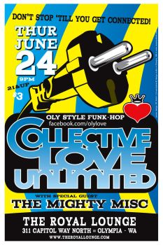 CLU show poster Royal Lounge by InsanityShack