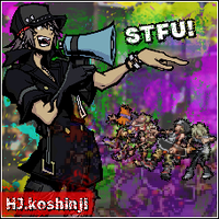 The world ends with.. STFU by hjkos