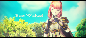 |MMD|FE:Echoes|GIFT| ~Celica's Best Wishes~ by UniversalKun