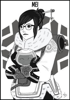 Mei - Overwatch by JuheJH
