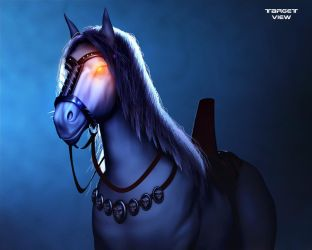 DeathRow Horse final by TargetView