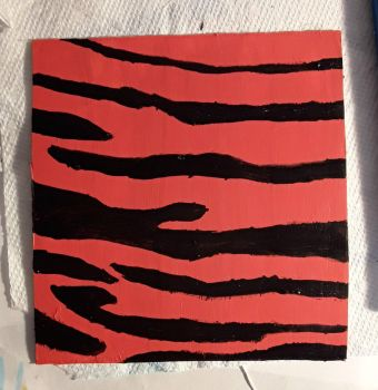 Painted Tiger Stripes  by AjayRulezzz