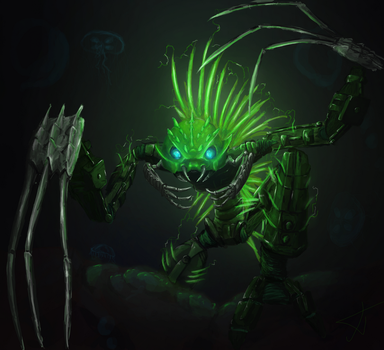 Creep from the deep by PavelPPP