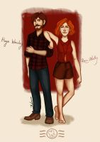 Next generation - the Weasleys by aidinera