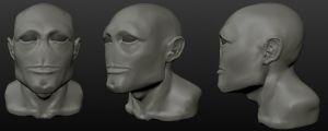 Large, initial sculpt by M0man