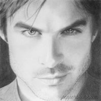Ian Somerhalder by pepperbunbun