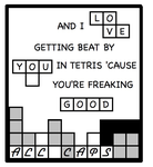 ALL CAPS Tetris by shoetattoo