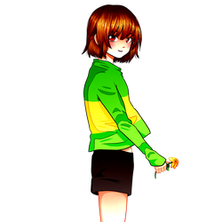 Chara - Undertale by FlyingPings