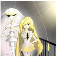 Lusamine and Pheromosa~