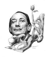 Salvador Dali by Ari3n