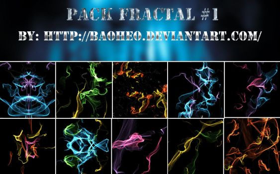Pack Fractal #1 by baoheo by baoheo