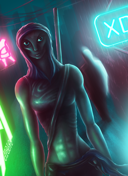 Neon City by XDimov