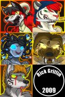 Halloween Icons by RickGriffin