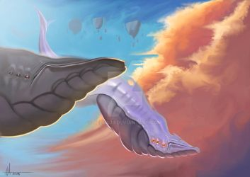 Whales by Jelux09