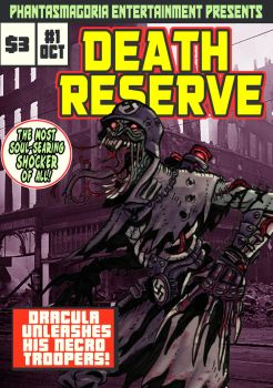 Death Reserve comic cover by VonKreep1313
