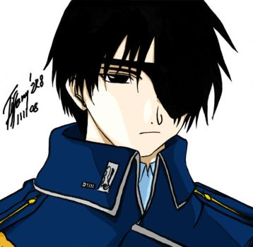 Roy Mustang by KBladez