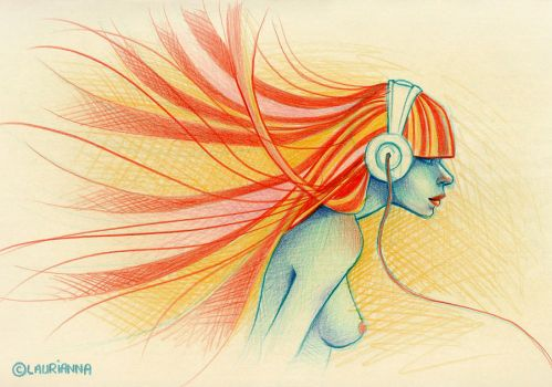 Hair and Music by Laurianna