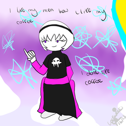 Rose Lalonde ~ i dont like coffee by Lousweet