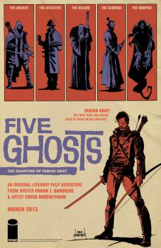 Five Ghosts Ad by Mooneyham