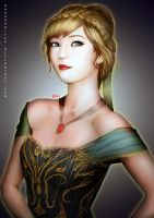 Anna (Frozen) by Kevin-Glint