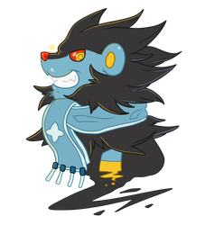 Luxray Pokesona by That-Stupid-Dingo