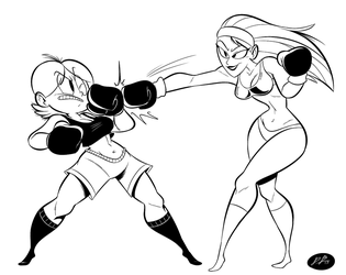 Shelby VS Violet Punch by RedBlooper