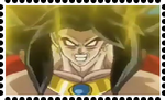 LSSJ4 Broly Stamp by WOLFBLADE111