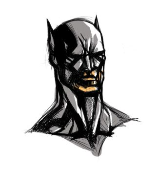 batman's cool head by noetics