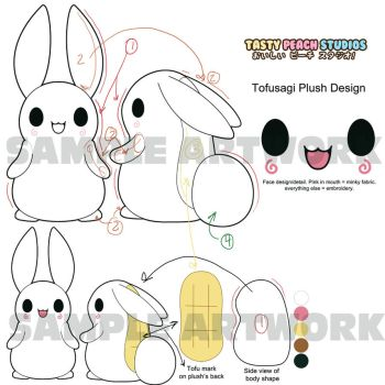 TPS: Tofusagi plush design by MoogleGurl