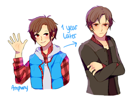 Junpei Evolution by Amphany