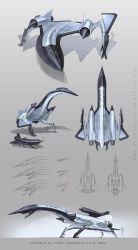 Lockheed M-21 (A-12) doodles by Hydrothrax