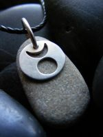 Horned God Necklace by MoonLitCreations
