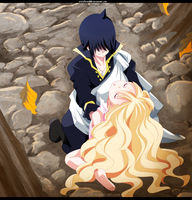 Zeref and Mavis Chapter 450 by kisi86