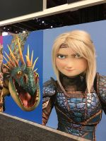 how to train your dragon 3 Astrid and stormfly by queenElsafan2015
