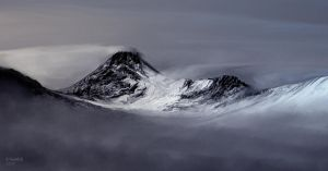 study of high mountains by andrekosslick