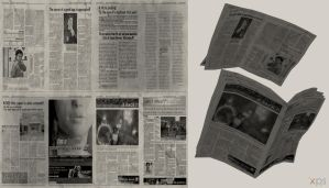 DOA5 Newspaper by rolance
