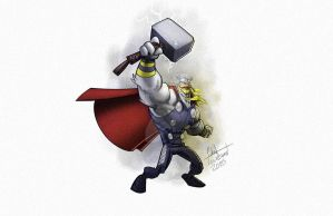 Thor - Ducktales Mashup by ChadTHX1138