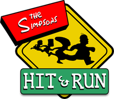 The Simpsons Hit and Run Logo by MrMuffinsMan