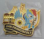San Franciscolt Pin by SouthParkTaoist