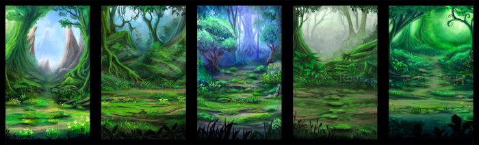 Outer Forest Designs by JKRoots