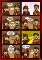 Ninjago: Older Than He Looks by GieRoSajie