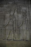 Temple of Horus Hieroglyphics by AndySerrano
