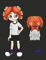 Octoling boy (splatoon) by jeffry24