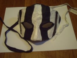 First Mask - Stripes by BlueSaltwaterTaffy