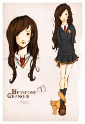 HP - Hermione Granger by froggy-chan