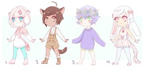 Adoptable Batch Auction CLOSED by Tmis-Adopts