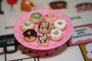 Miniature Donuts by PetiteWishes