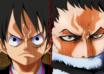 One Piece 878: Luffy vs. Katakuri by IIYametaII