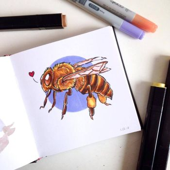 Bee's knees by Ageen