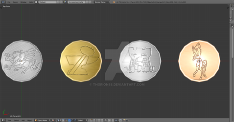 WIP Eoden Coins by Thorion88